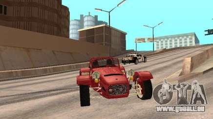 Caterham CSR 260 pour GTA San Andreas