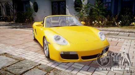 Porsche Boxster S pour GTA 4