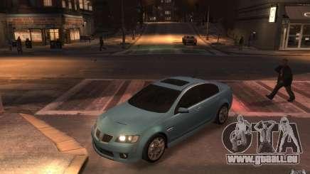 Pontiac G8 GXP für GTA 4