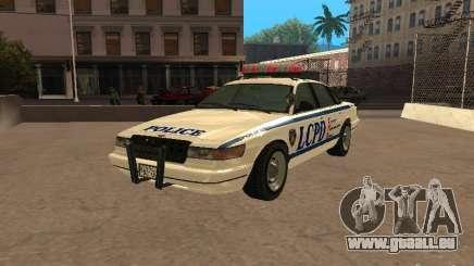 Die Polizei von GTA4 für GTA San Andreas