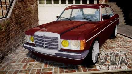 Mercedes-Benz 230E 1976 Tuning pour GTA 4