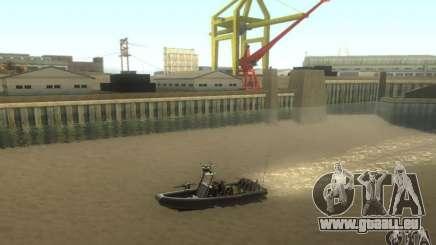 RHIB Boat für GTA San Andreas