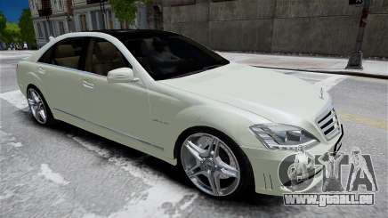 Mercedes-Benz S65 AMG LONG 2010 pour GTA 4