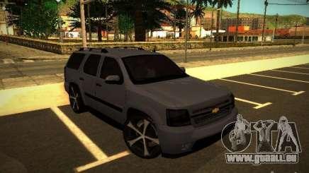 Chevrolet Tahoe HD Rimz pour GTA San Andreas