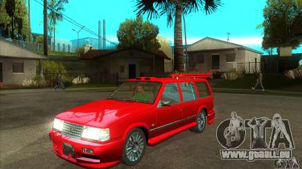 Volvo 945 Wentworth R with bodykit (1.2) pour GTA San Andreas