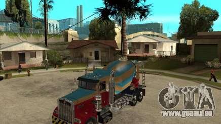 Kenworth W900 CEMENT TRUCK für GTA San Andreas
