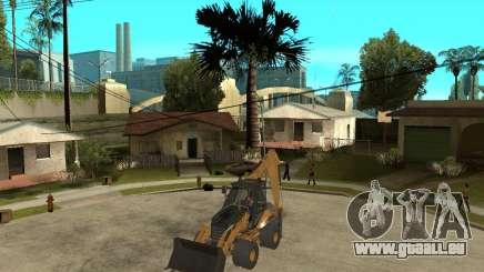 Lastik Tekerli Dozer pour GTA San Andreas
