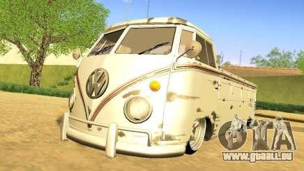 Volkswagen Type 2 Single Cab Rat für GTA San Andreas