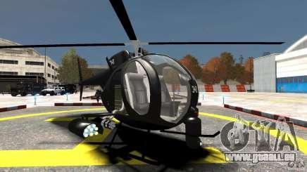 AH-6 LittleBird Helicopter für GTA 4