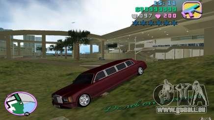 Rolls Royce Silver Seraph pour GTA Vice City