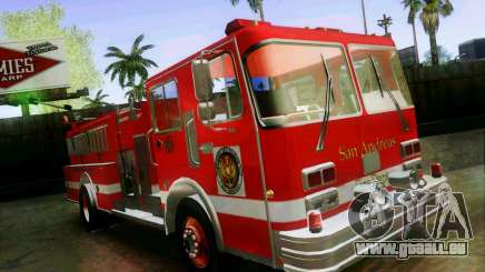 Pumper Firetruck Los Angeles Fire Dept pour GTA San Andreas