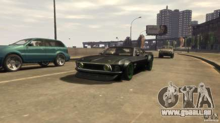 Ford Mustang RTRX 1969 pour GTA 4