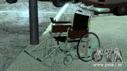Fauteuil roulant manuel pour GTA San Andreas