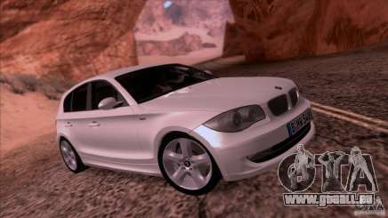 BMW 120i 2009 pour GTA San Andreas
