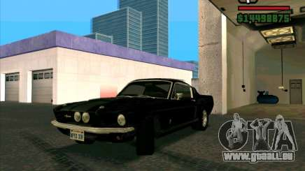 Shelby Mustang GT500 1967 für GTA San Andreas
