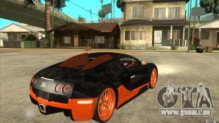 Bugatti Veyron Super Sport 2011 pour GTA San Andreas
