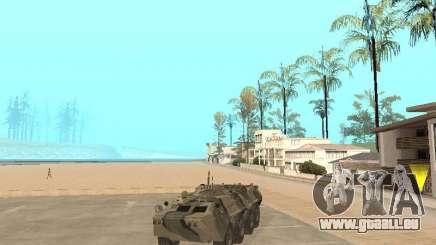 BTR 80 pour GTA San Andreas