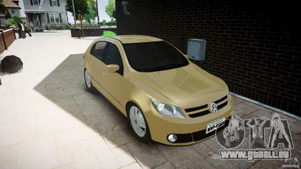 Volkswagen Gol 1.6 Power 2009 pour GTA 4