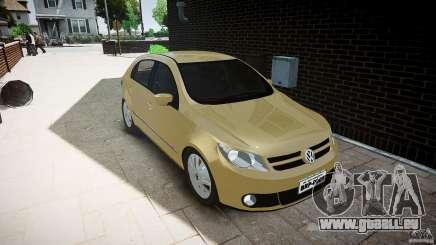 Volkswagen Gol 1.6 Power 2009 pour GTA 4