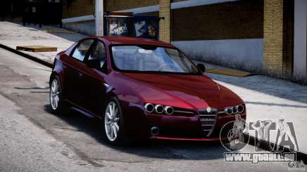 Alfa Romeo 159 Li pour GTA 4