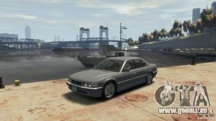 BMW 740i E38 pour GTA 4