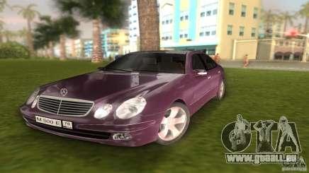 Mercedes E-class E500 für GTA Vice City