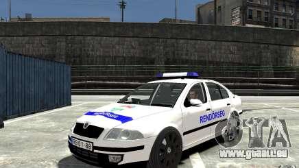 Skoda Octavia 2005 Hungarian Police pour GTA 4