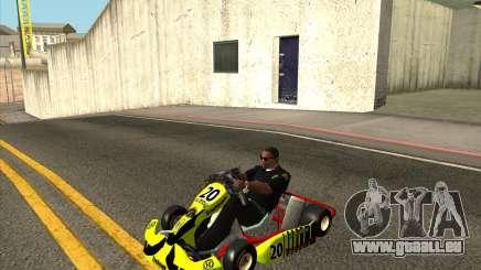 Shifter kart Honda CR 125 pour GTA San Andreas