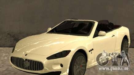 Maserati GranCabrio 2011 für GTA San Andreas