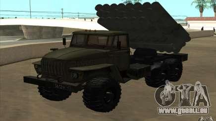 Ural 4320-Grad-v2 für GTA San Andreas