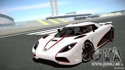 Koenigsegg Agera R 2012 für GTA San Andreas