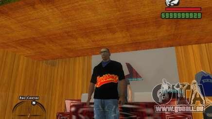 DAS MIZ-T-shirt für GTA San Andreas
