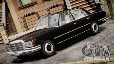 Mercedes-Benz 280SE W116 für GTA 4