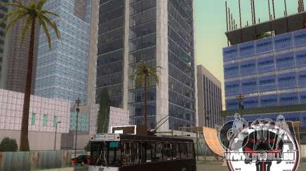 Trolleybus LAZ-52522 pour GTA San Andreas