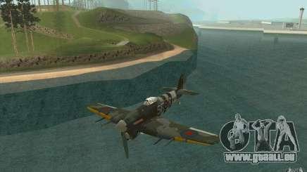 Hawker Typhoon pour GTA San Andreas
