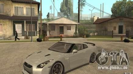 Nissan GTR SpecV 2010 pour GTA San Andreas