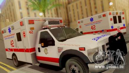 Ford F350 Super Duty Chicago Fire Department EMS für GTA San Andreas