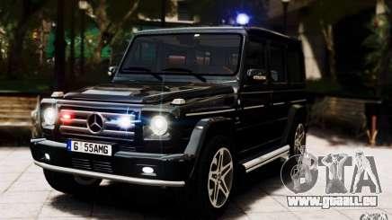 Mercedes-Benz G55 AMG pour GTA 4