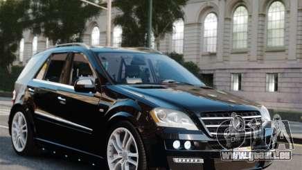 Mercedes-Benz ML Brabus 2009 pour GTA 4