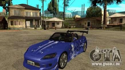 Honda S 2000 pour GTA San Andreas