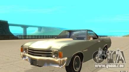 Chevrolet El Camino 1972 für GTA San Andreas