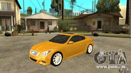 Infiniti G37 Coupe Sport pour GTA San Andreas