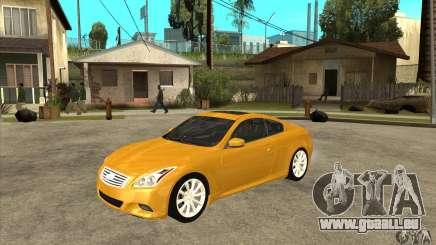 Infiniti G37 Coupe Sport pour GTA San Andreas