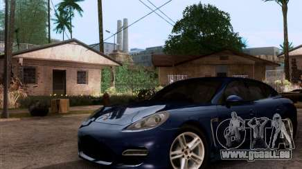 Porsche Panamera Turbo 2010 Final für GTA San Andreas