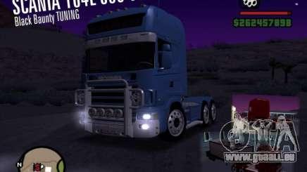 Scania 164L 580 V8 Black Beaunty für GTA San Andreas