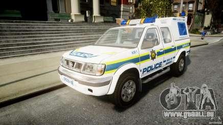 Nissan Frontier Essex Police Unit für GTA 4