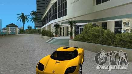 Koenigsegg CCX pour GTA Vice City