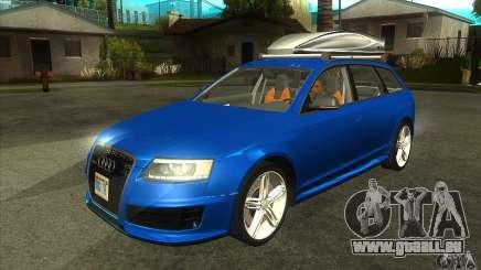 Audi RS6 Avant 2009 für GTA San Andreas
