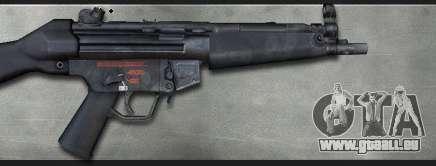 MP5A4 pour GTA San Andreas