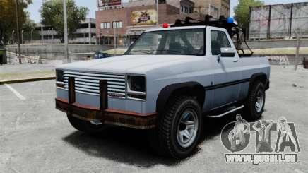 Rancher Tow Truck ELS für GTA 4